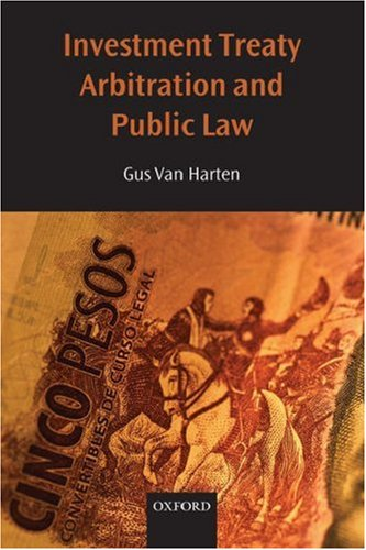 Investment Treaty Arbitration and Public Law   2008 edition cover