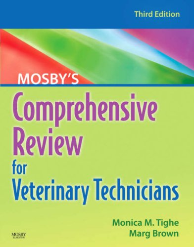 Mosby's Comprehensive Review for Veterinary Technicians  3rd 2007 (Revised) edition cover