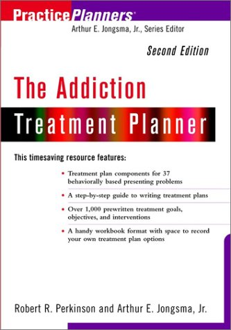 Addiction Treatment Planner  2nd 2001 (Revised) 9780471418146 Front Cover