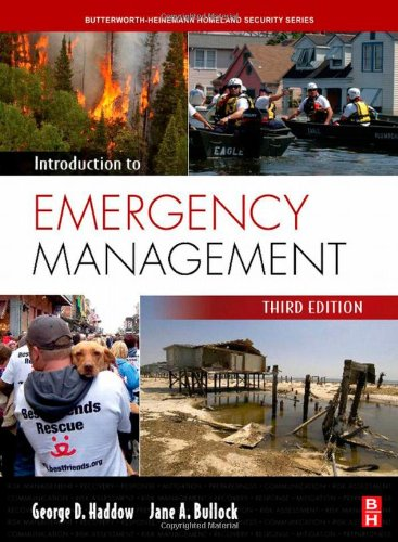 Introduction to Emergency Management  3rd 2008 9780750685146 Front Cover