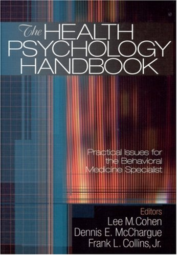 Health Psychology Handbook Practical Issues for the Behavioral Medicine Specialist  2003 edition cover