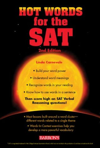 Hot Words for the SAT  2nd 2004 9780764123146 Front Cover
