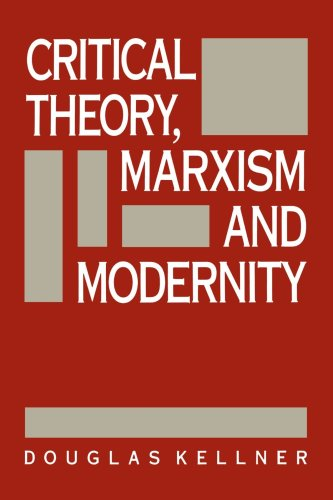 Critical Theory, Marxism, and Modernity   1989 edition cover
