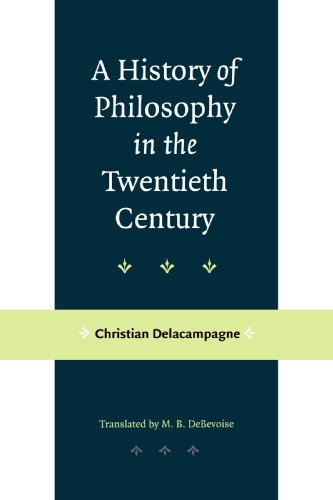 History of Philosophy in the Twentieth Century   2001 edition cover
