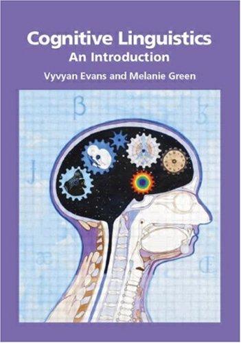 Cognitive Linguistics An Introduction  2006 edition cover