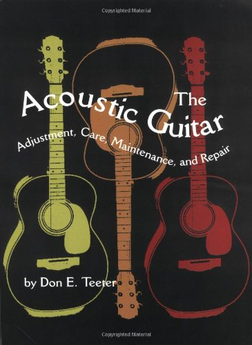 Acoustic Guitar Adjustment, Care, Maintenance, and Repair  1975 edition cover