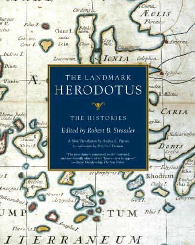 Landmark Herodotus The Histories N/A 9781400031146 Front Cover