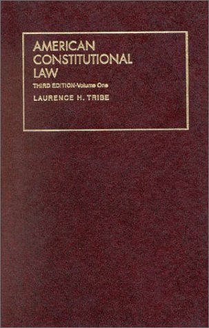 American Constitutional Law  3rd 1999 (Revised) edition cover