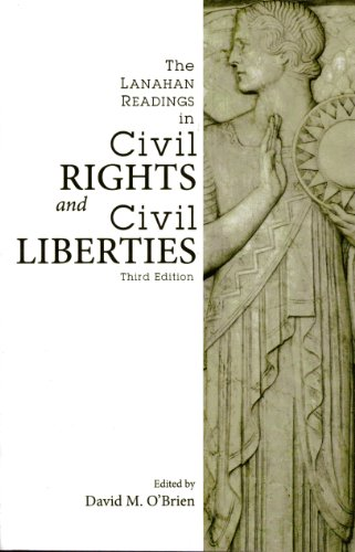 Lanahan Readings in Civil Rights and Civil Liberties  3rd edition cover