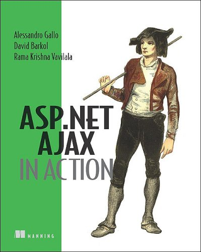 ASP. NET AJAX in Action   2007 9781933988146 Front Cover