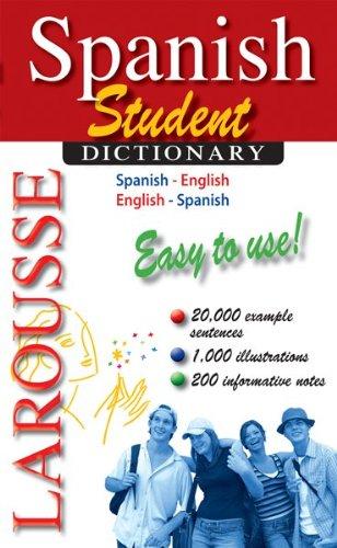 Larousse Student Dictionary Spanish-English/English-Spanish   2010 edition cover