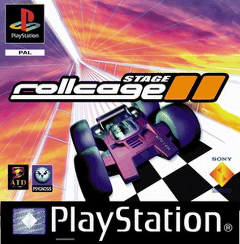 Rollcage Stage 2 PlayStation artwork