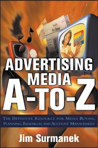 Advertising Media A-To-Z   2004 9780071422147 Front Cover