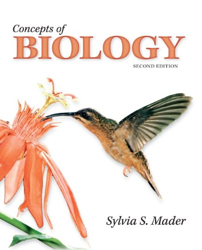 Concepts of Biology  2nd 2011 edition cover
