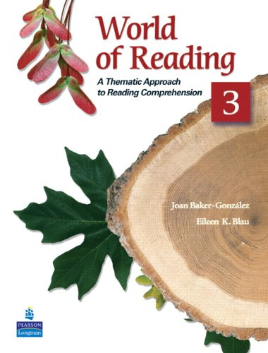 World of Reading A Thematic Approach to Reading Comprehension 2nd 2009 edition cover