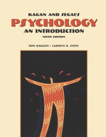Psychology An Introduction 9th 2004 (Revised) edition cover