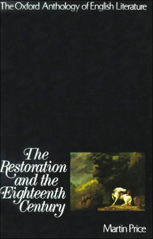Restoration and the Eighteenth Century   1973 edition cover
