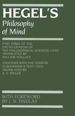 Hegel's Philosophy of Mind  N/A edition cover