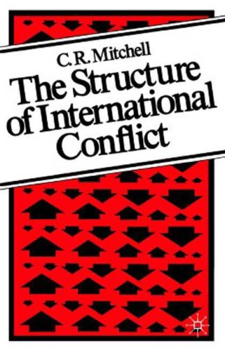 Structure of International Conflict   1981 9780312024147 Front Cover