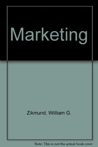 Marketing  5th 1996 9780314062147 Front Cover