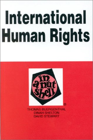 International Human Rights in a Nutshell  3rd 2002 (Revised) edition cover