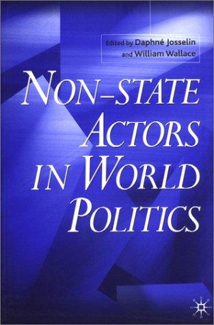 Non-State Actors in World Politics   2001 (Revised) edition cover
