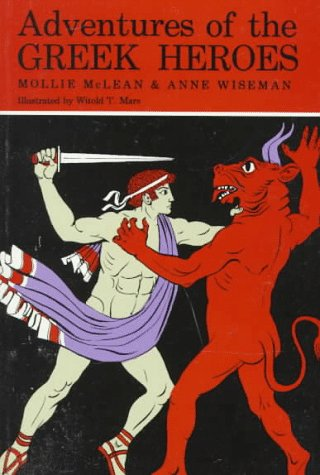 Adventures of the Greek Heroes   1972 edition cover