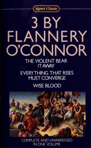 Three by Flannery O'Connor   1983 edition cover