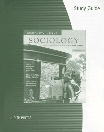 Sociology Your Compass for a New World 2nd 2007 9780495099147 Front Cover