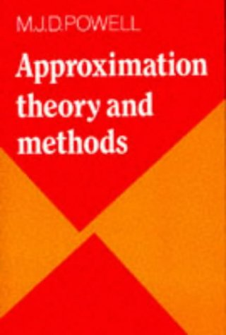 Approximation Theory and Methods   1981 9780521295147 Front Cover
