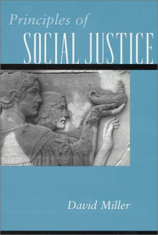 Principles of Social Justice   1999 edition cover