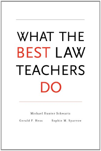 What the Best Law Teachers Do   2013 9780674049147 Front Cover