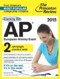Cracking the AP European History Exam, 2015 Edition   2014 edition cover