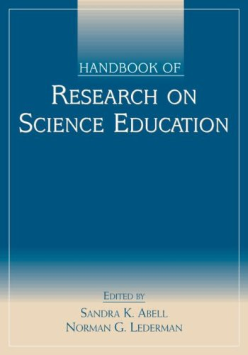 Handbook of Research on Science Education   2007 edition cover