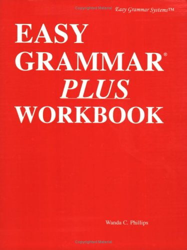 Easy Grammar Plus Student Workbook   2007 (Workbook) edition cover