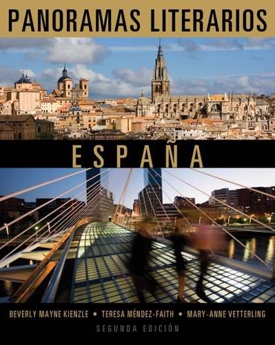 Panoramas Literarios Espana 2nd 2013 edition cover