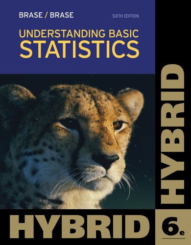 Understanding Basic Statistics, Hybrid (with Aplia Printed Access Card)  6th 2013 edition cover