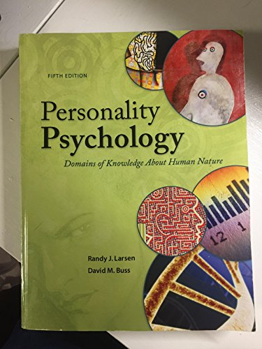 PERSONALITY PSYCHOLOGY >CUSTOM<         N/A 9781259436147 Front Cover