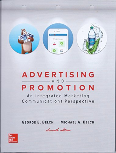 Advertising and Promotion: An Integrated Marketing Communications Perspective  2017 9781259548147 Front Cover