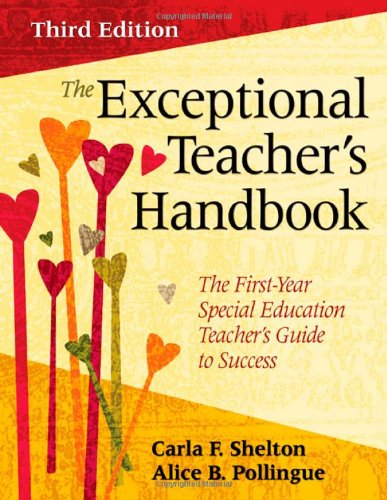 Exceptional Teacher's Handbook The First-Year Special Education Teacher's Guide to Success 3rd 2009 edition cover