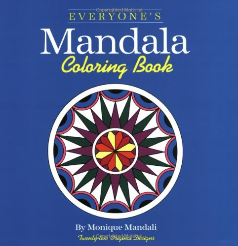 Everyone's Mandala Coloring Book  N/A 9781560440147 Front Cover