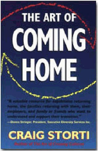 Art of Coming Home   2001 edition cover