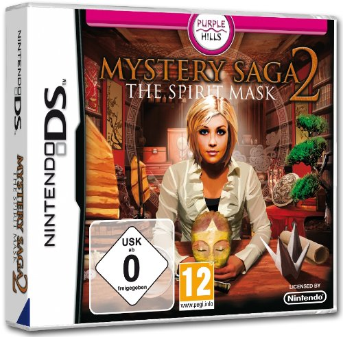 Mystery Saga - The Spirit Mask Nintendo DS artwork