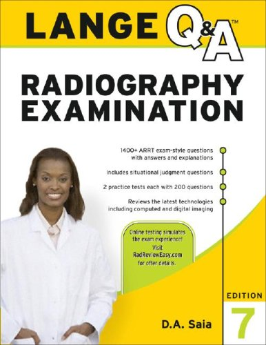 Radiography Examination  7th 2008 edition cover