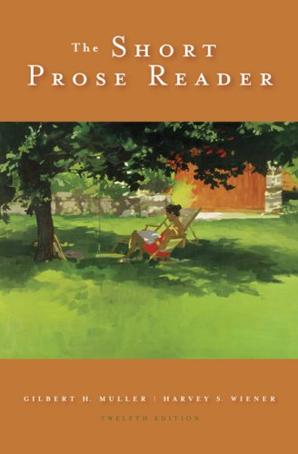 Short Prose Reader  12th 2009 edition cover