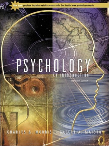 Psychology An Introduction 11th 2002 edition cover