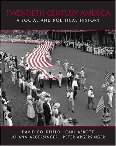 20th Century America A Social and Political History  2005 edition cover
