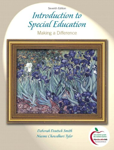 Introduction to Special Education Making a Difference, Student Value Edition 7th 2011 edition cover