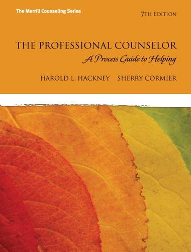 Professional Counselor A Process Guide to Helping 7th 2013 (Revised) edition cover