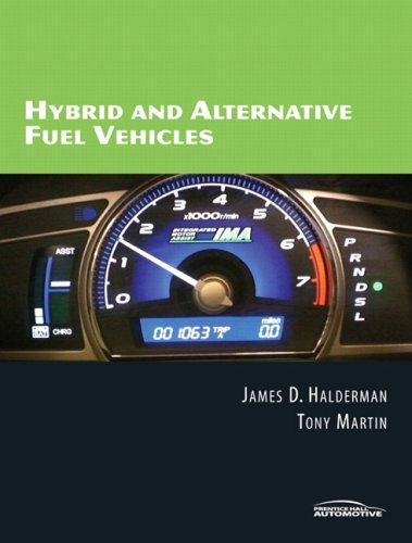 Hybrid and Alternative Fuels Vehicles   2009 9780135044148 Front Cover